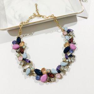 ❗️LAST ONE❗️J. Crew Ombré Crystal Necklace Lilac